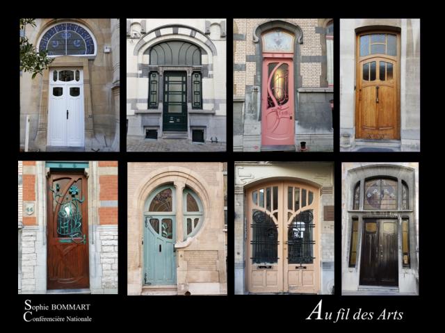 Bruxelles Art Nouveau portes