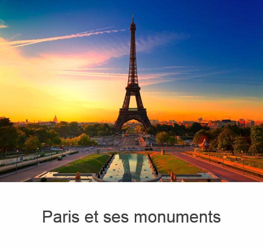 Banniere Paris et ses monuments
