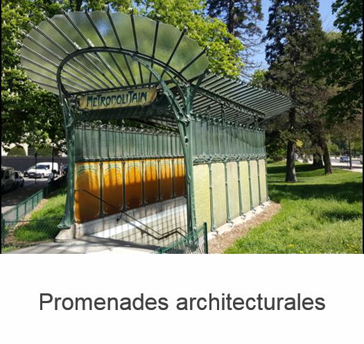Banniere Promenades architecturales