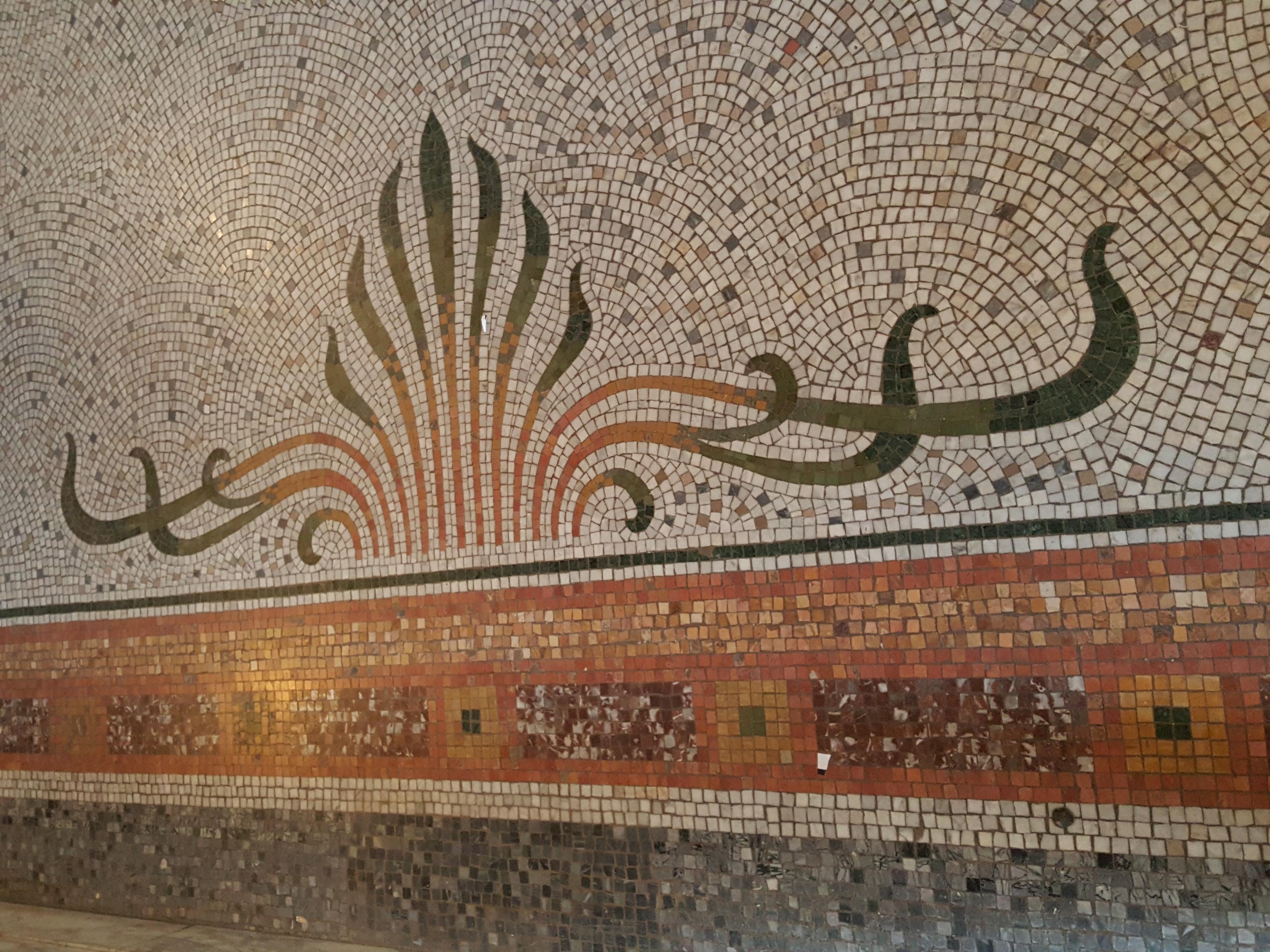 Decor Art Nouveau Bruxelles Mosaique Au Fil Des Arts